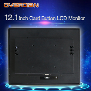 Image 5 - 12inch Lcd Monitor Resistance Touch Industrial Control VGA/DVI/USB Connector Metal Shell Card Buckle Type Installation