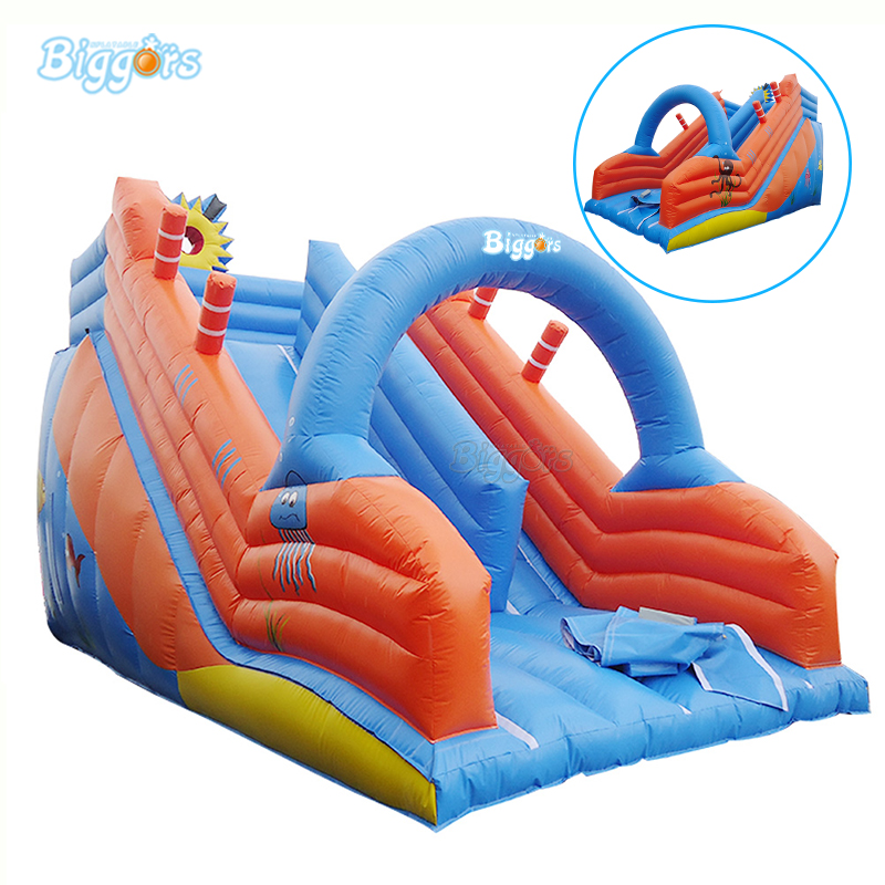 Customized Color And Printing Carnival Inflatable Slide Inflatable Slide With Arch For Sale