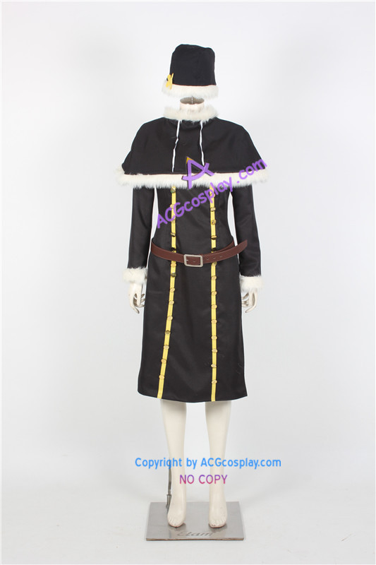 Fairy Tail Juvia Lockser Cosplay Costume black version