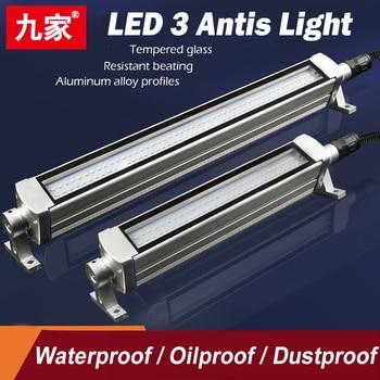 Más Largo 980mm LED CNC Máquina Herramienta Luz A Prueba De Explosiones A Prueba De Aceite Impermeable Taller Lámpara De Trabajo Amplio Voltaje 24/36/220V