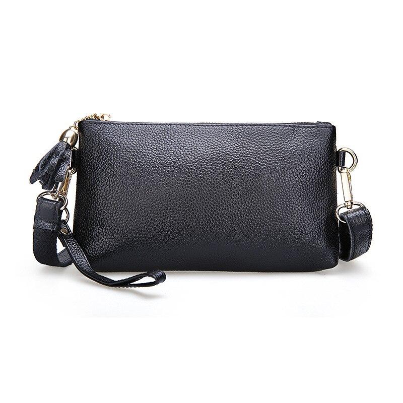 6 Colors Mini Fashion Genuine Leather Female Small Bag Women s One Shoulder Handbag Messenger Bag