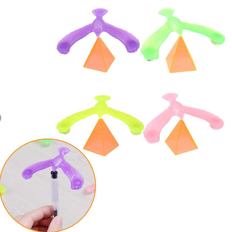Pyramid Balance Eagle Bird Toy Magic Toy Fun Learning Education Gag Toy Gift 1PCS