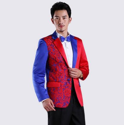 Red And Blue Suit   My Dress Tip