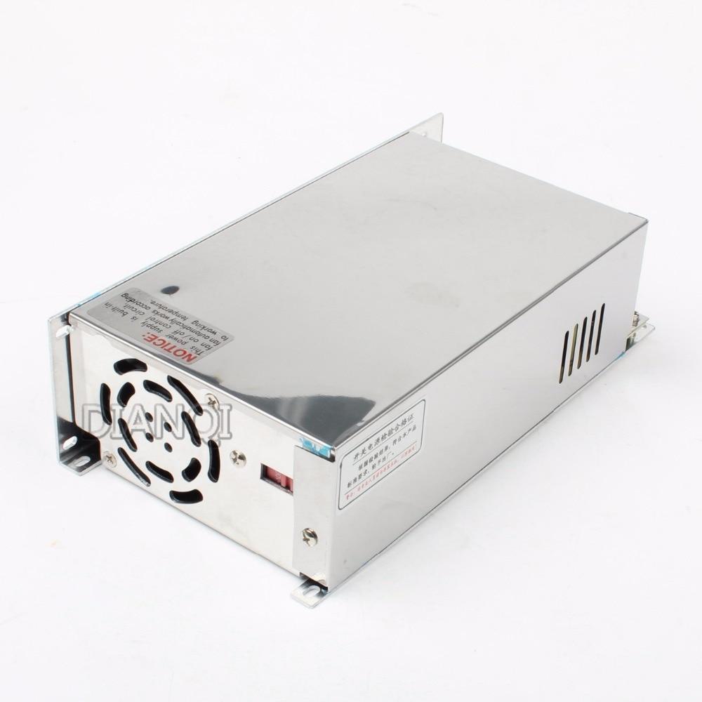500W 12V 13.5V 15V 24V 27V 36V 48V Single Output Switching power supply for LED Strip light AC to DC transformers led driver 500w 5v 70a single output switching power supply for led strip light ac to dc led driver