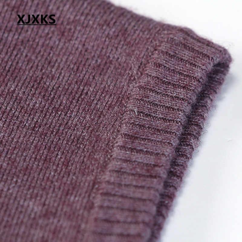 XJXKS Frauen Frühling Herbst Mode Frauen Weste Mantel Ärmel Taste Outwear Strickjacke Casual Tops Femme Jacke Plus Größe 212