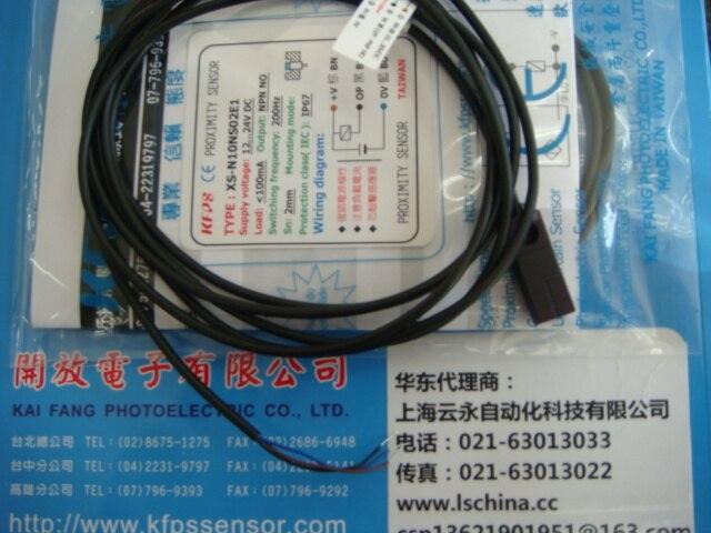NEW  ORIGINAL XS-N10NS02E1 Taiwan kai fang KFPS twice from proximity switch turck proximity switch bi2 g12sk an6x