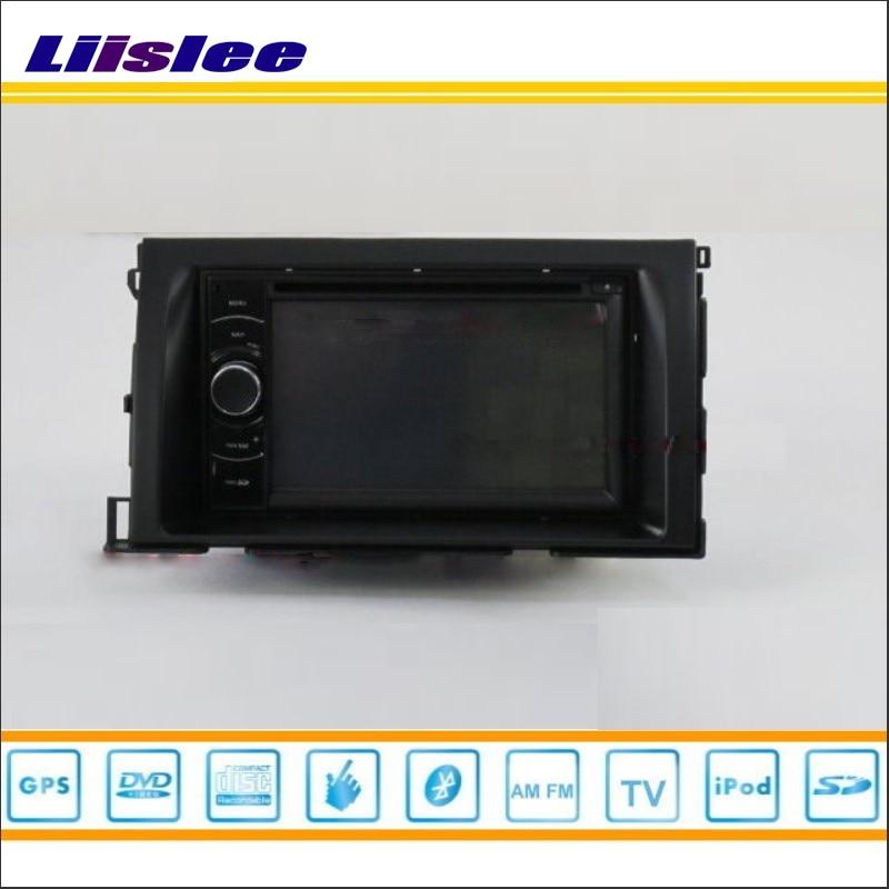 Liislee для Toyota Isis 2004 ~ 2014-Автомобильный Радио стерео CD dvd-плеер GPS Navi HD touch аудио-видео s100 Географические карты nav навигации Системы