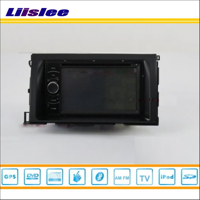 Liislee For Toyota Isis 2004~2014 - Car Radio Stereo CD DVD Player GPS NAVI HD Touch Audio Video S100 Map Nav Navigation System