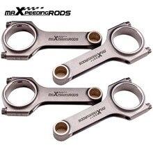4340 Drijfstangen Drijfstangen voor Ford Escort MK3 MK4 Fiesta MK3 CVH 1.6 RS Turbo 4340 Gesmeed Drijvende Krukas Evenwichtige crank