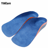 YihCare 1 Pair Children Orthopedic Insoles For Flat Foot Arch Support Shoes Pad Kids Health Care