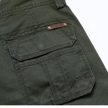 Mens Military Multi-pockets Cargo Pants