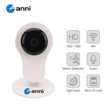 1080 P Wi-Fi HD 2.0 МП Мини Радионяня, формат сжатия h.264, Ик ночного видения, 24 Часа циклическая Запись Камеры Безопасности