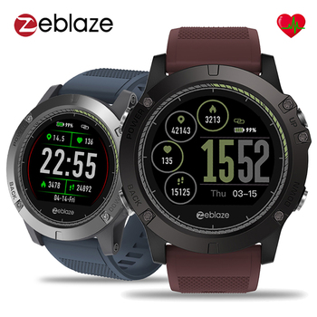 Zeblaze VIBE 3 HR Smartwatch Wearable Device Sleep Heart Rate Monitor 1.22 inch IPS Color Display Smart Watch For Android IOS g6 tactical smartwatch