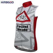HIRBGOD New Sleeveless Cycling Jersey Women Summer Cyclist Inside Bicycle Clothing Female Cycling Jersey Bike MTB Clothes ,NR110