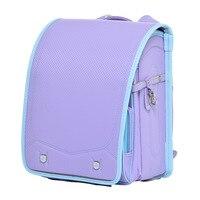 Pretty Children Backpack for Boy and Girl School Bag Bookbag Orthopedic Randoseru Child Student Japanese Book Bags Kid Backpacks