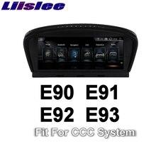 Liislee para BMW 3 E90 E91 E92 E93 2004 ~ 2010 CCC-Estilo NBT Coche Multimedia Reproductor de Radio Stereo Navegación GPS Multimedia de Audio NAVI
