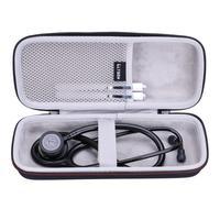 LTGEM EVA Su Geçirmez Darbeye Dayanıklı Taşıma sert çanta için 3m Littmann Classic III Izleme Stetoskop 5803
