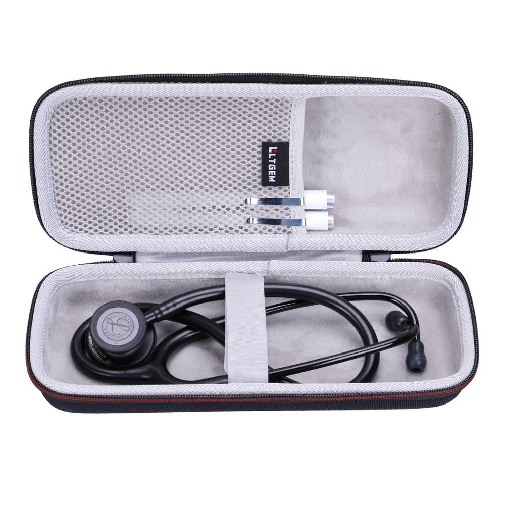 LTGEM EVA Waterproof Shockproof Carrying Hard Case For 3M Littmann Classic III Monitoring Stethoscope 5803