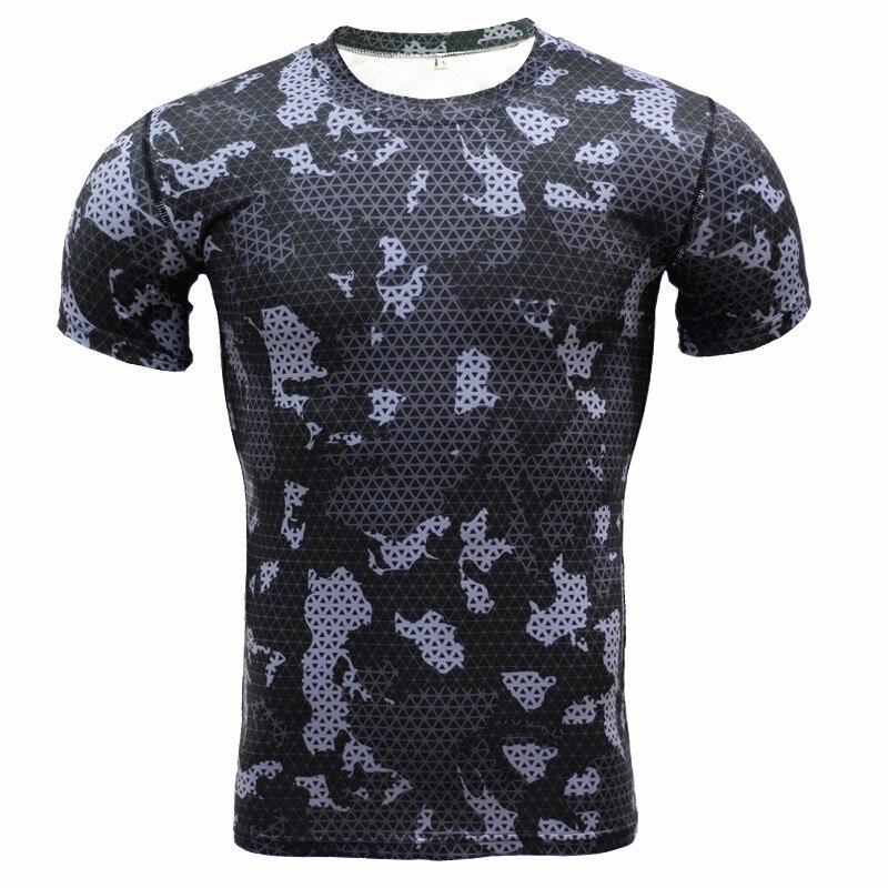 New 3D Print T Shirt Men poloshirt shirt men T-shirt Casual Fashion Tshirt Summer Camo Camouflage Compression Top Tees
