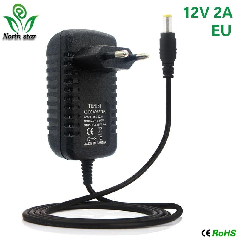 Led Strip 2A US EU Plug Power Supply Adapter AC 110V-240V To DC 12V Remote Controller IR 24Key 44Key For SMD 5050 3528 Rgb Led