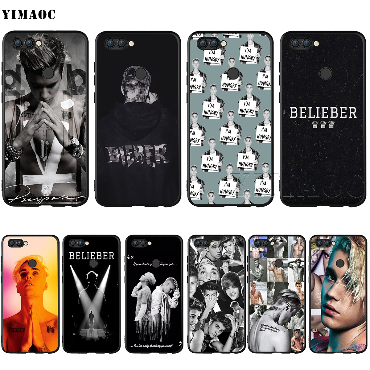 Yimaoc Justin Bieber Purpose Tour Soft Tpu Cover For Huawei Mate 20 Pro 20 Lite Nova3 3i Case For Honor 10 Lite 8x Cases Fitted Cases Cellphones & Telecommunications