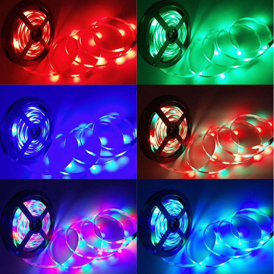 Tiras de Led led flexível 24 teclas rgb Led Strip Light : Red Green Blue And Mixed Color