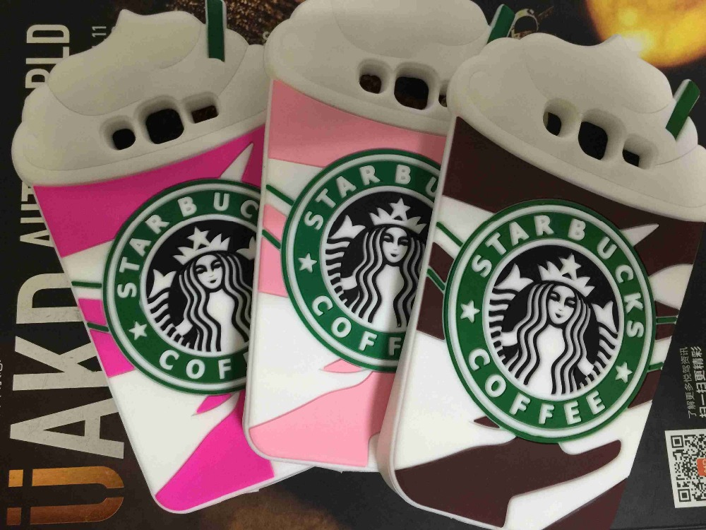 For Samsung Galaxy Grand Prime G530 G530H G5308W Cartoon Starbuck Coffee Cup Silicone Soft Case Cover