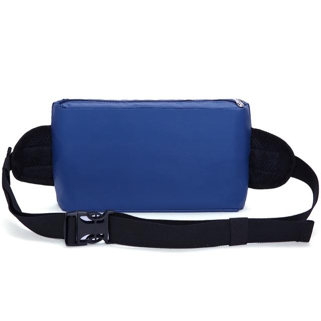Colorido pacote de cintura bolsa de ombro único de poliéster saco da cintura unisex do vintage bolsa de viagem saco crossbody peito