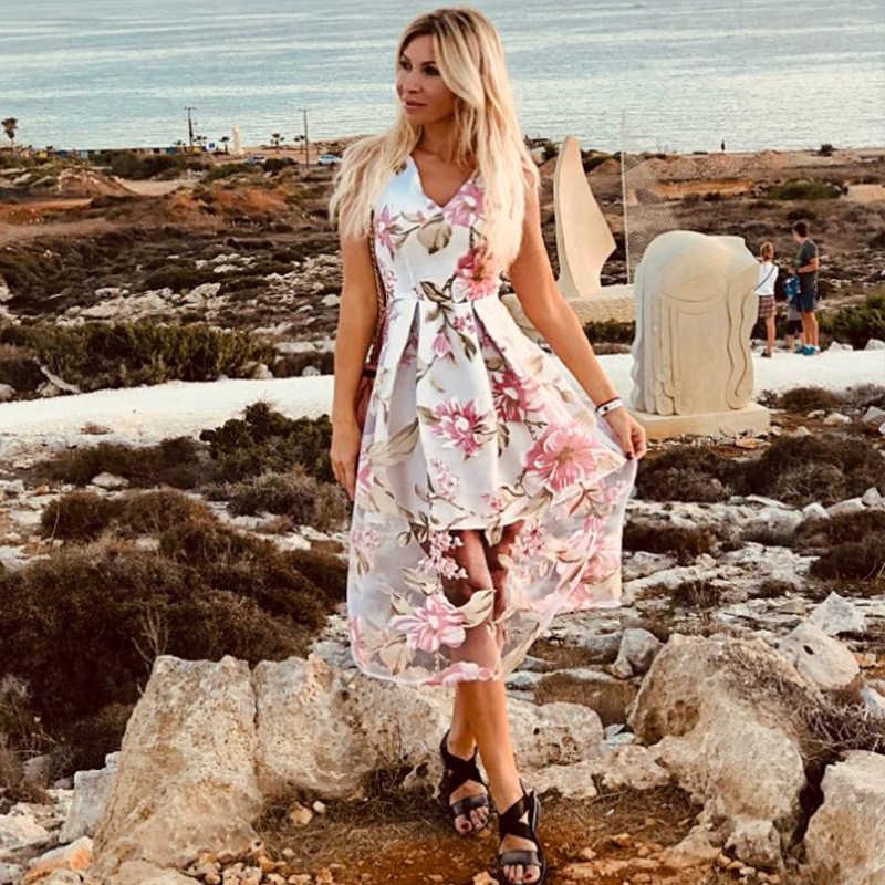 Lírio Rosie Menina Fora Do Ombro V Pescoço Branco Vestido De Malha Mulheres Boho Summer Beach Vestidos de Noite Sexy Partido Maxi Longo vestido Vestidos