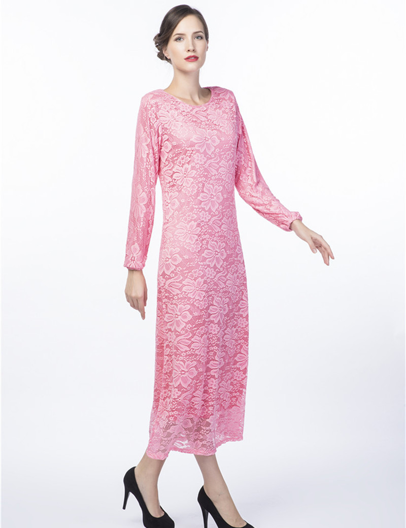 Lace abaya dress women long sleeve plus size party dresses club factory  evening dress alibaba express B8013-in Islamic Clothing from Novelty    Special Use ... 708c70393