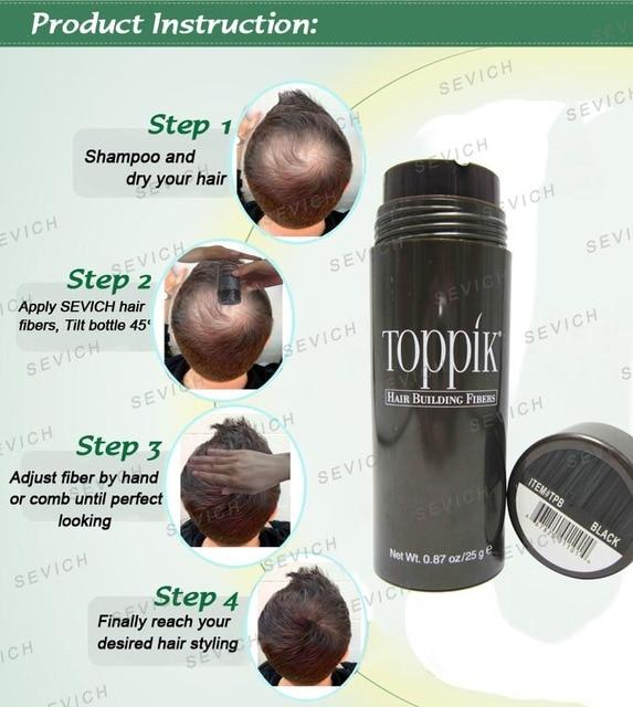 Thickening Hair Care Fibre Styling Powder Refill 27.5g Toppik Hair Fibers Keratin Building Hair Loss Fiber Hair Spray Applicator