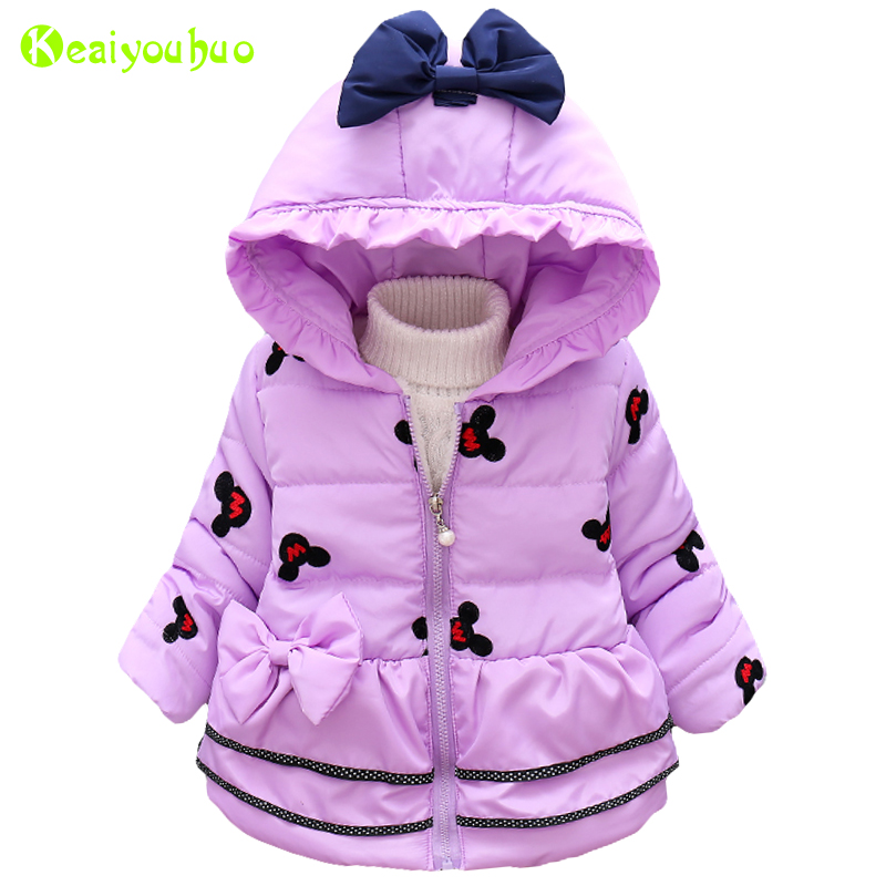 Baby Girls Jacket 2019 Autumn Winter Jackets For Girls Infant Coat Kids Warm Outerwear Coat For Girls Clothes Children Jacket