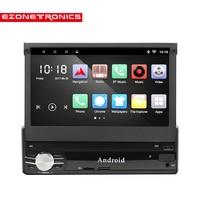 Universal 1 Din Car Radio Player 7 GPS Navigation Bluetooth Android 6 0 Car MP5 Player