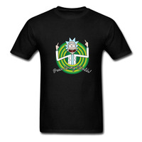 Cool Desgin Rick Morty Men T Shirt 2018 Summer Anime T Shirts Rick And Morty Worlds
