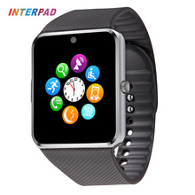 Wearable Devices GT 08 Smart Watch Andriod With Fitness Tracker Smart Clock Sync SMS Dial Call