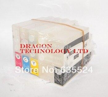 Cartuchos de tinta recargables 932 933 XL 6100 6600 6700 impresora con chip de reinicio automático para impresora HP|Impresoras|   -