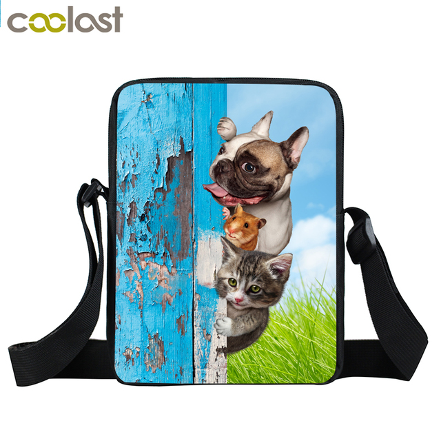 Aliexpress.com : Buy 3D Kawaii Puppy Messenger Bag Cute Pet Dog ...