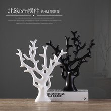 цена на ceramic lucky tree home decor crafts room decoration handicraft ornament porcelain figurines christmas articles decorations