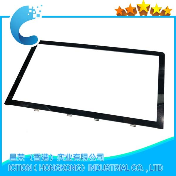 Original A1312 Front Glass Cover For iMac 27 A1312 Glass Front LCD Glass Lens Panel Cover 2011 Model beijer electronics ab exter t100 using front glass panel kdt 544 new goods