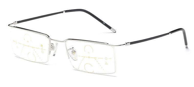 Anteojos de aleación de titanio Hombres Zoom inteligente - Accesorios para la ropa - foto 3