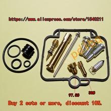 (1 set $ 18.5)Bandit250 (GSF250) GJ77A VS/V/Z Mikuni carburetor repair kit Configuration Jet needle (J.N.) and Needle jet (N.J.) цена