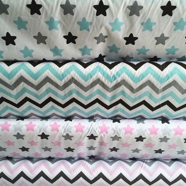 160 cm * 50 cm blauw roze ster cartoon katoen stof lakens ...