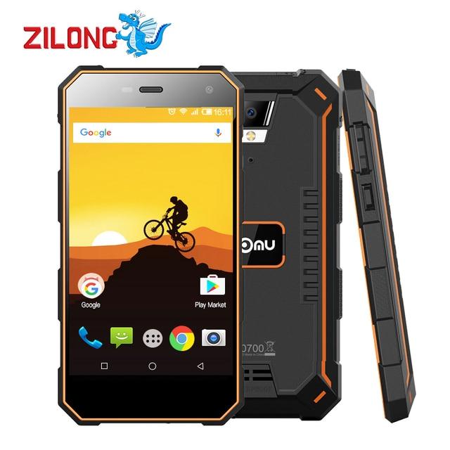 "Original 5.0"" Nomu S10 Waterproof Smart phone MTK6737T Quad core 2G RAM 16G ROM 5000mAh OTG 8.0MP Camera 4G Lte Mobile phone"