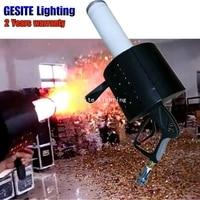 2018 LED Pistola CO2 Confetti Cannon Jet Gun Machine DMX DJ Stage Lighting