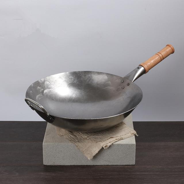 Traditional Iron Wok Pan