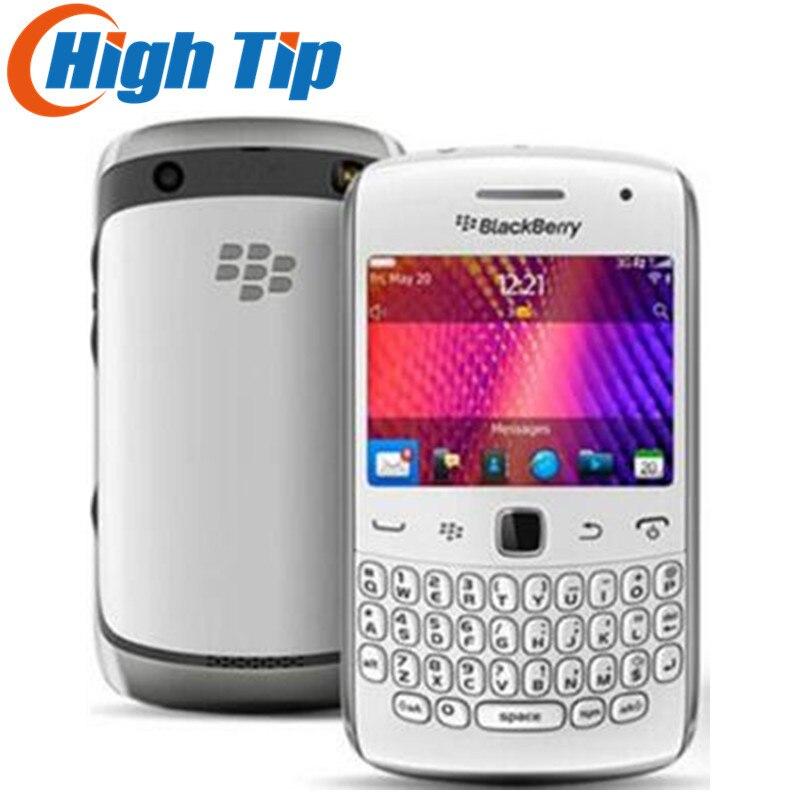 Courbe d'origine 9360 téléphone portable BlackBerry OS 7.0 GPS WIFI 3G téléphone portable remis à neuf