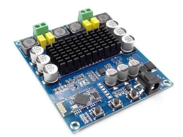 XH-M548 Bluetooth двухканальный 120 Вт цифровой усилитель мощности доска TPA3116D2 Bluetooth цифровой аудио усилитель доска