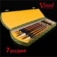 Chinese brushes art supplies Calligraphy brushes Chinese brush Calligraphy pen set with gift box Lian brush
