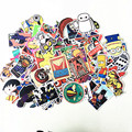500 mixed Hot sale Home decor toy styling laptop sticker for motorcycle skateboard doodle toys sticker