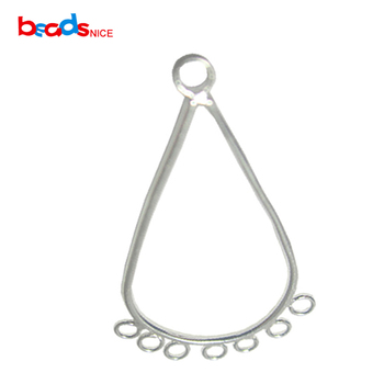 1d364f3e1e46 Beadsnice venta al por mayor plata 925 pendiente gancho Chandelier  componente DIY accesorios de la joyería en el precio de fábrica ID28052